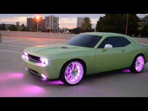 Dodge Challenger R/T - Oracle Colorshift 2.0 LEDs - Custom Lighting