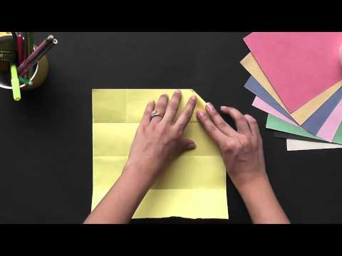 Origami - Learn to make a Rectangular Box Part 1 (HD)