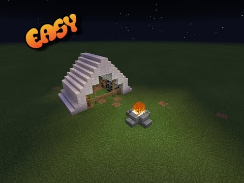 How to make a Tent in Minecraft Pocket Edition