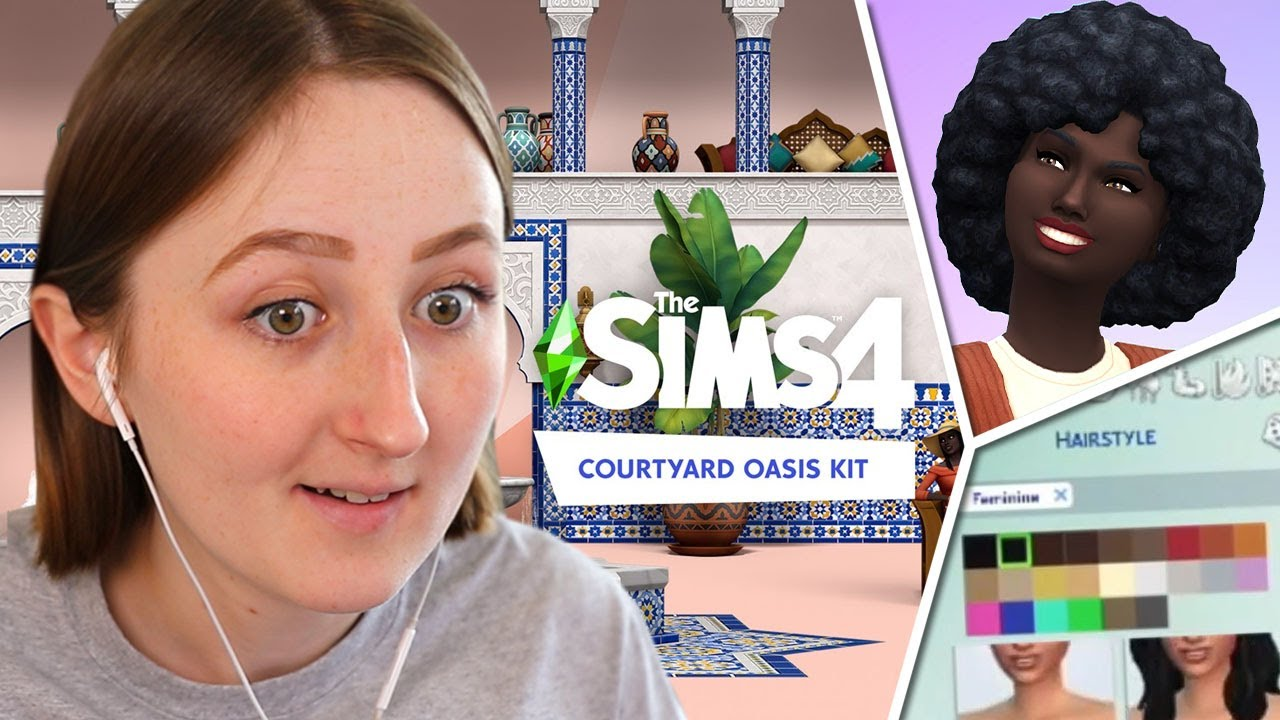 HUGE SIMS UPDATE + NEW PACK