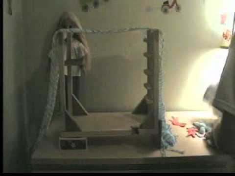 How to make a ag doll loft bed into a canopy bed