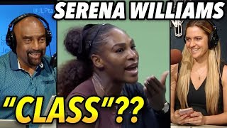 """The Real Story On Serena Williams Angry Outbursts: """"class""""??"""