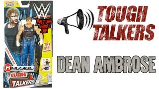 WWE FIGURE INSIDER: Dean Ambrose - Mattel WWE Tough Talkers Series 1!
