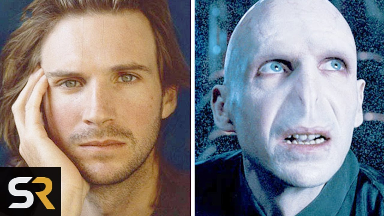 10 Actors Before And After Movie Makeup