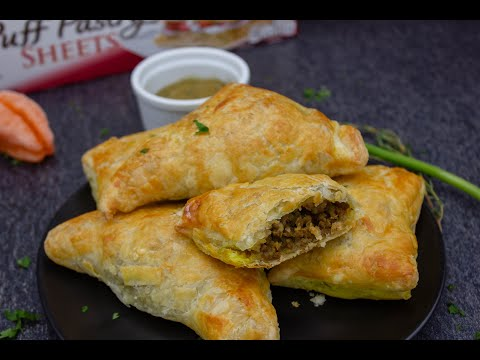 Easy Haitian Patties | Puff Pastry Patties | Episode 43