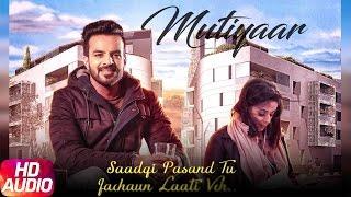 Mutiyaar Audio Poster | Happy Raikoti | Parmish Verma | Releasing On 25th Feb | Speed Records