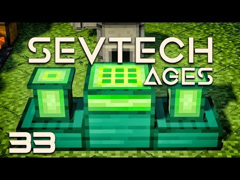 SevTech: Ages EP33 Easy Enderman Farm + Ender Crafter