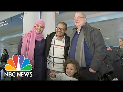 A Yemeni Family Reunited, Thanks To Immigration Ban Stay | NBC News