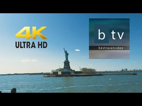 Statue of Liberty NY Ferry tour in 4K – UHD.