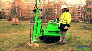 Soil Investigation Rig Gtr 790 By Nordmeyer Geotool