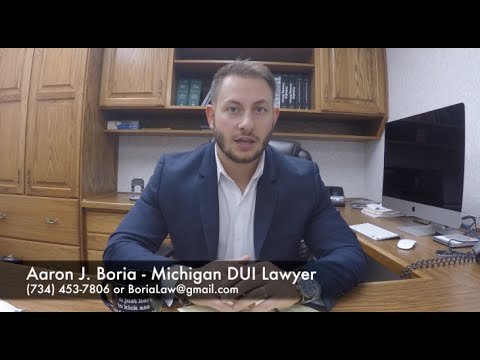 Michigan DUI Lawyer - Drinking and Driving Defense