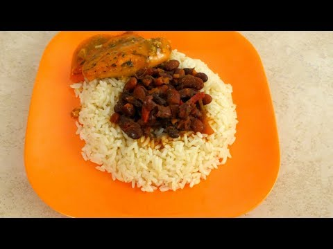 How To Cook Red Kidney Beans:  Pressure Cooker Recipe