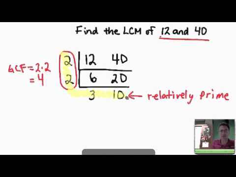 Find LCM of Two Numbers