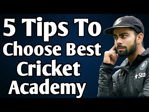 How To Choose Cricket Academy | Join Cricket Club | Cricket Academy |
