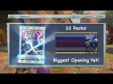 22 Phenomenal Character Packs Opening!   Garden Warfare 2 Gameplay