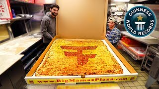 Download EATING THE WORLD'S LARGEST PIZZA! *100,000 CALORIES* Video