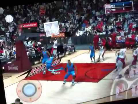 How to Use The alley-oop Button On NBA 2K15 for ipad/iPhone/iPod