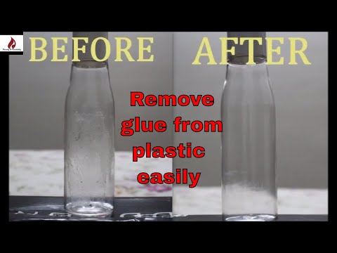 Remove Stubborn Glue From Plastic, Glass, Mirror Using This Method
