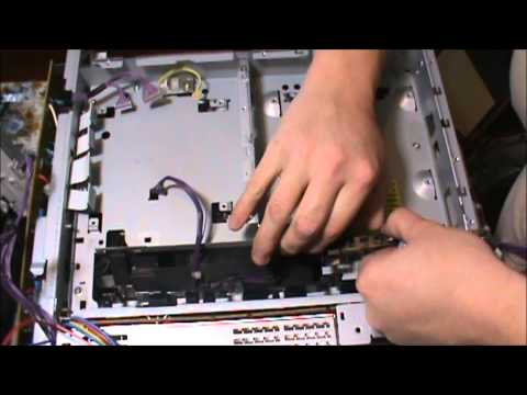 Complete Disassebly and Cleaning the Laser Box on an HP CM1015 Printer