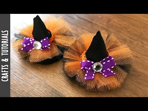 Witch Hats Hair Clip Tutorials - The290ss