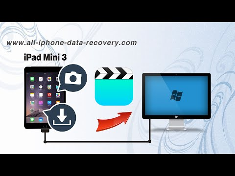 How to Backup Videos from iPad Mini 3 to PC without iTunes, iPad Mini 3 Movies to Computer