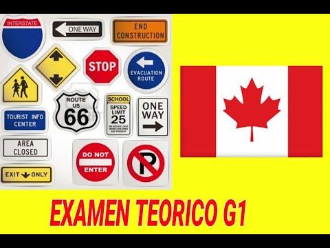 G1 EN ESPAÑOL EXAMEN TEORICO 2