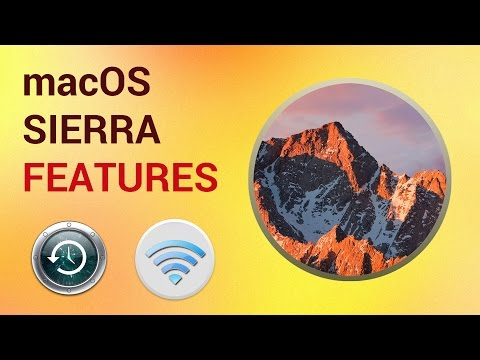 mac OS Sierra New Features: Siri, Picture in Picture, Universal Сlipboard, iCloud Drive