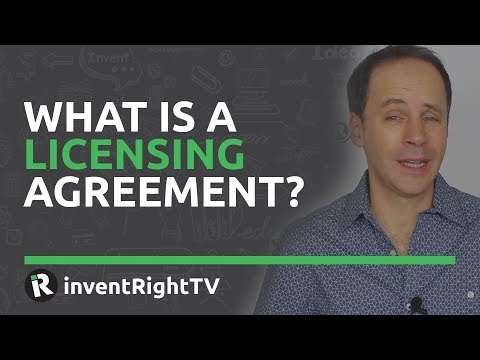 What is a Licensing Agreement?