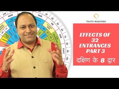 Effect of 32 entrances Part 3 (main door or gate) | Vastu shastra for home