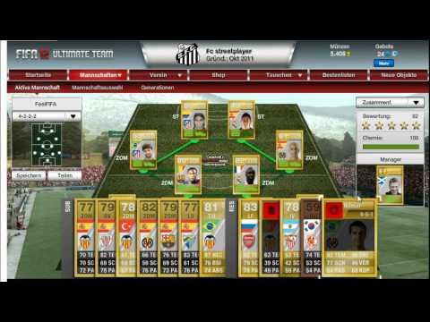 Fifa 12  -  Ultimate team   -  Spanish league squad