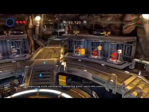 LEGO Batman 3: Beyond Gotham - Bat Cave - Open World Free Roam Gameplay [HD]