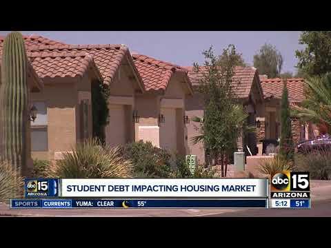 Student debt impacting housing market