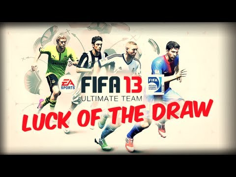 FIFA 13 Ultimate Team   Luck of the Draw Squad Builder - Episode 1
