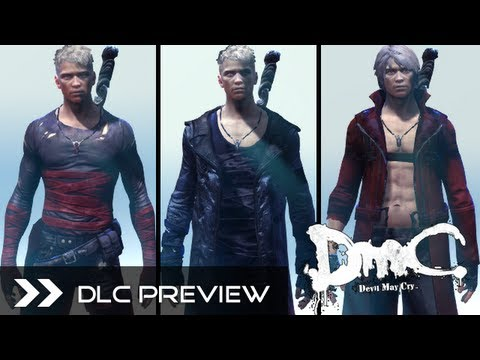 DmC Devil May Cry 2013 - All DLC Costumes Skins for Xbox360, PS3 & PC (Neo, Dark, Classic Dante) HD