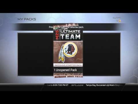 MUT Captain Selection and Starter Pack - Madden NFL 25