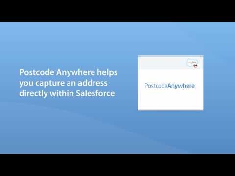 Postcode Anywhere for Salesforce - UK addressing