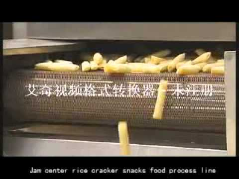 Core filling snack food processing line ,core filling snack food equipment