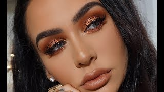 METALLIC COPPER Spring Makeup Tutorial