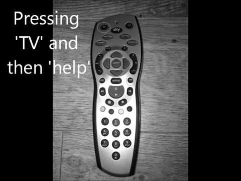 Tips on using Sky+ Remote Control