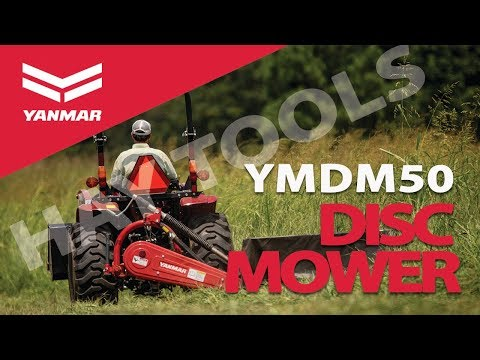 Yanmar YMDM50 Compact Disc Mower for Hay Harvest