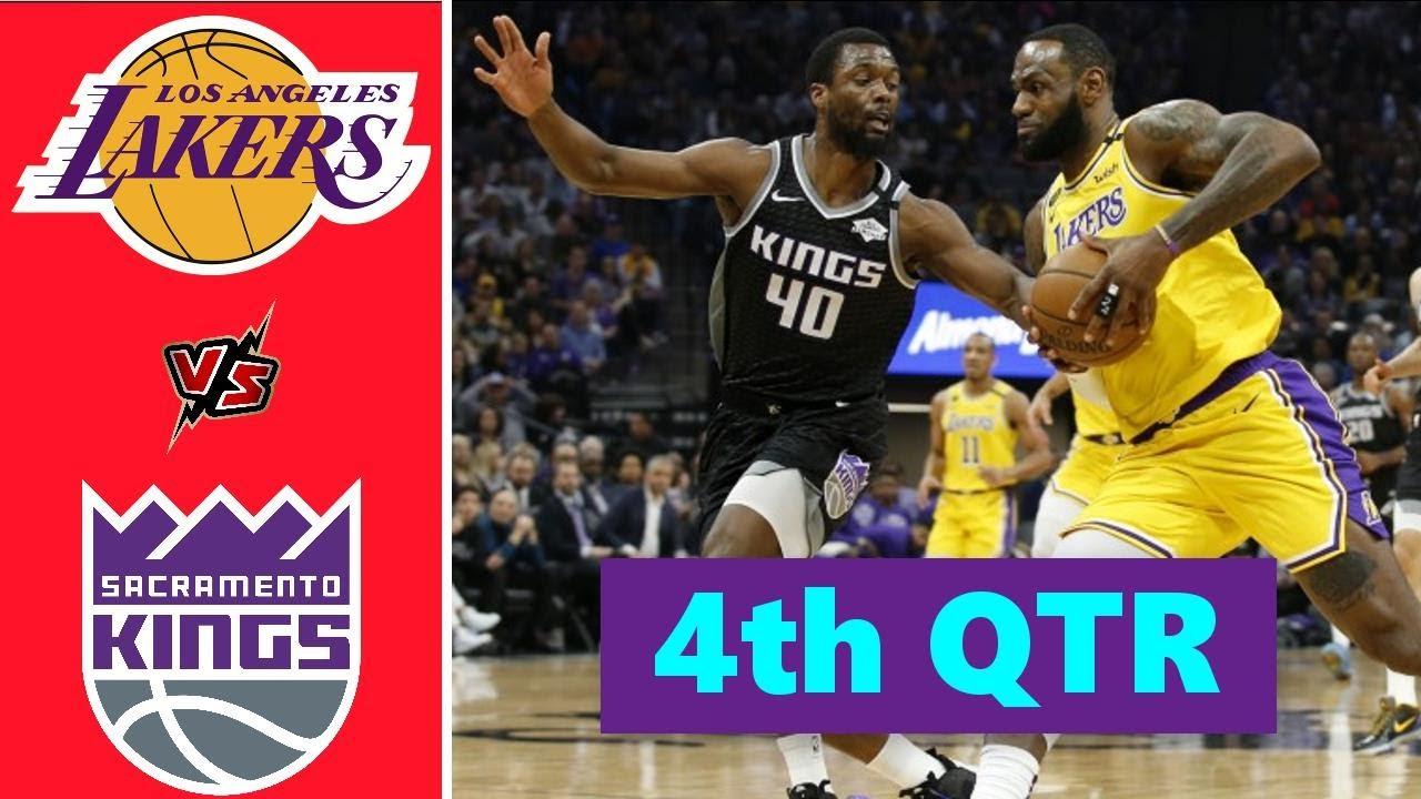 Los Angeles Lakers vs. Sacramento Kings Full Highlights 4th Quarter | NBA Season 2021