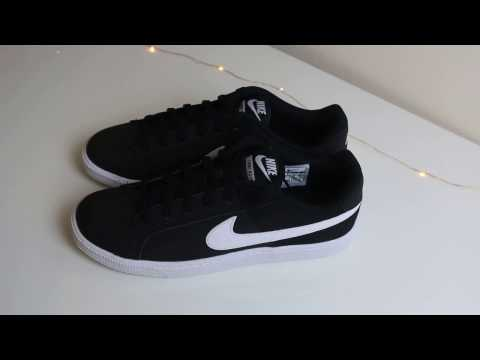 Nike Court Royal Sneakers Trainers Unboxing