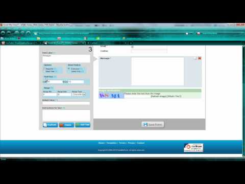 Dreamweaver CS4 and CS5 tutorial: Creating a Contact form in seconds!