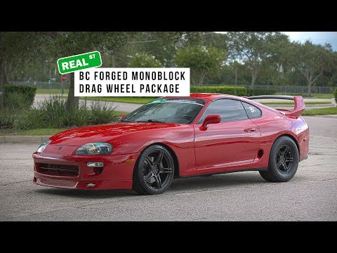 BC Forged Monoblock Drag Wheel Supra Package - Real Street Performance