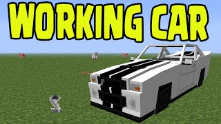 Minecraft PS3, PS4, Xbox, Wii U - WORKING CAR with SLIME BLOCKS! (Title  Update TU31 / 1 8) - getplaypk