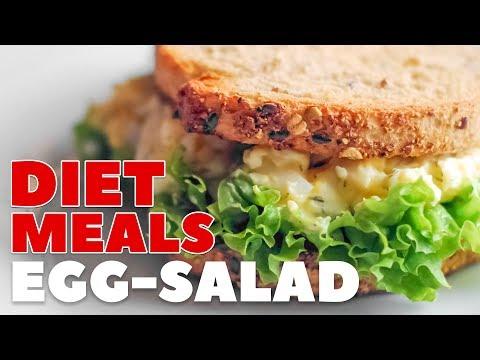 Low Calorie Recipes - Egg Salad Sandwich