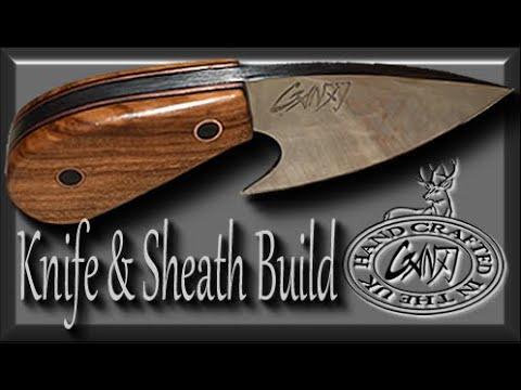 DIY SKINNER - HOW TO MAKE A SKINNING KNIFE