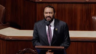 Texas Rep. Al Green Faces Threats of Lynching & Murder After Calling for Trump