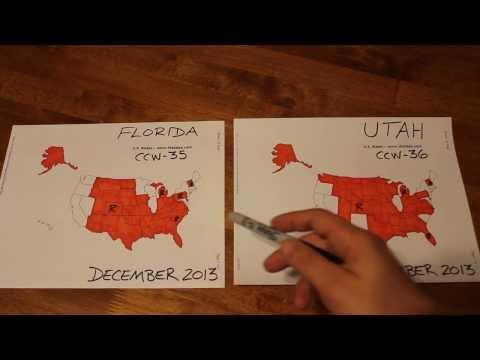 Multi State Florida CCW Utah CCW Comparison