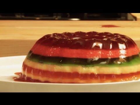 How to Make a Rainbow Jell-O Mold | Jell-O Recipes | Allrecipes.com
